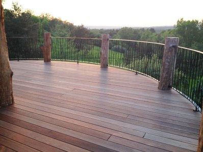 Hilltop House Deck