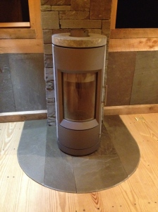 The Hearthstone 'Bari' Wood stove