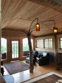 Hilltop House Living Room