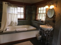 Stone Cottage Sink, Jucuzzi and Shower